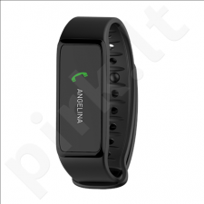 MyKronoz ZeFit3 Smartwatch, Black, 80 mAh, Touchscreen, Bluetooth, Waterproof