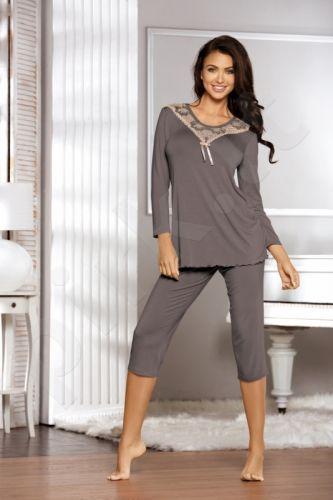 Pižama ESTIA (mocca spalvos)