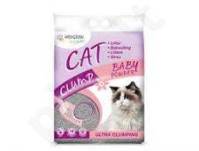 Smėlis katėms CLUMP BABYPOWDER 15kg
