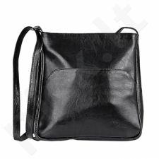 DAN-A T232 juoda rankinė iš natūralios odos