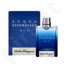 Salvatore Ferragamo Acqua Essenziale Blu, tualetinis vanduo vyrams, 100ml