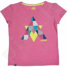 Marškinėliai 4f Junior T4Z16-JTSD001 rožinės spalvos