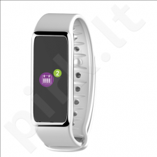 MyKronoz Zefit 3 Smartwatch, White, 80 mAh, Touchscreen, Bluetooth, Waterproof