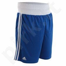 Šortai boksininkams  Adidas Boxing Shorts mėlynase