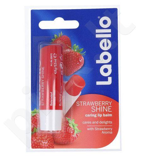 Labello Strawberry Shine, kosmetika moterims, 5,5ml