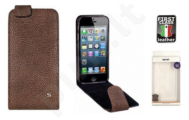 Apple iPhone 5 dėklas GRAVEL Sox rudas