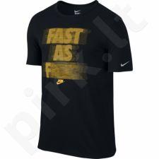 Marškinėliai bėgimui  Nike Run P Fast As TEE M 776632-010