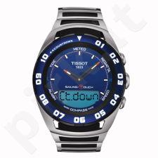 Tissot Sailing Touch T056.420.21.041.00 vyriškas laikrodis-chronometras