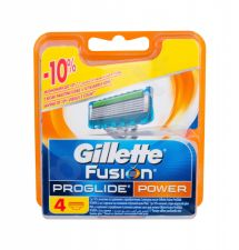 Gillette Fusion Proglide Power, skutimosi peiliukų galvutės vyrams, 4pc