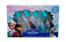 Disney Frozen, rinkinys tualetinis vanduo vaikams, (EDT Anna 8 ml + EDT Elsa 8 ml + EDT Olaf 8 ml + EDT Anna & Elsa 8 ml)