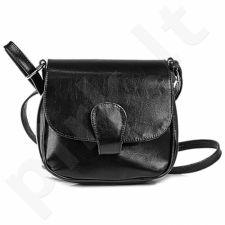 DAN-A T225 juoda rankinė iš natūralios odos , moteriška