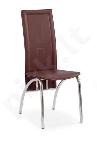 Kėdė K75, tamsiai rudos sp.