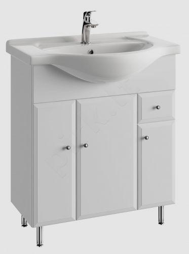 Vonios kambario spintelė su praustuvu 7502 D75 koj.