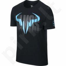 Marškinėliai tenisui Nike Rafa Short Sleeve Crew Tee M 850860-010