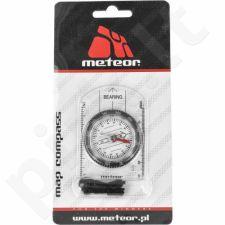 Kompasas Meteor su liniuote 71011