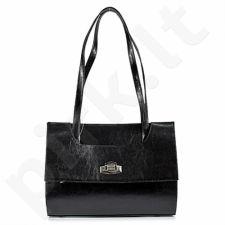 DAN-A T242 juoda rankinė iš natūralios odos , moteriška