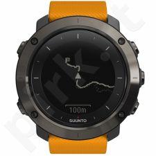 Vyriškas laikrodis SUUNTO TRAVERSE AMBER (gray case/amber silicone strap)