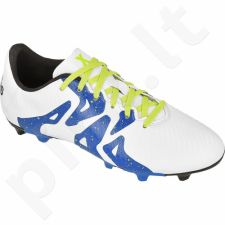 Futbolo bateliai Adidas  X 15.3 FG/AG Jr S74638