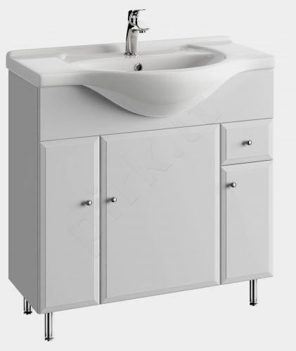 Vonios kambario spintelė su praustuvu 8502 D85 koj.