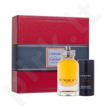 Cartier L´Envol de Cartier rinkinys vyrams, (EDP 80 ml + pieštukinis dezodorantas 75 ml)