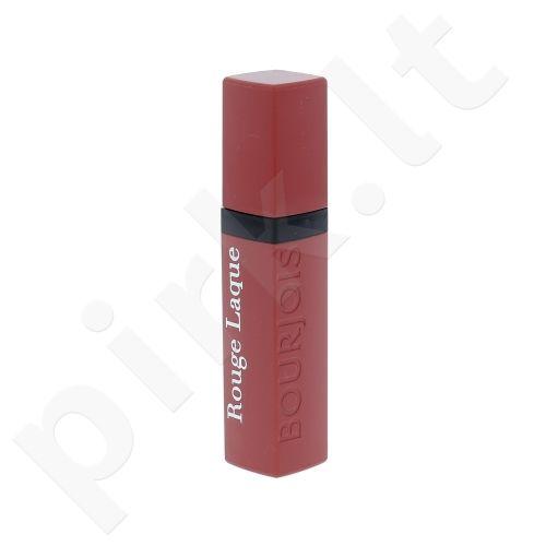 BOURJOIS Paris Rouge Laque Liquid lūpų dažai, kosmetika moterims, 6ml, (03 Jolie Brune)