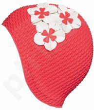Kepuraitė plauk. mot. gum. BUBBLE su gėle 3119 41