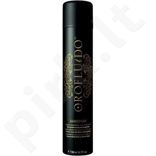 Orofluido plaukų lakas Strong Hold, 500ml, kosmetika moterims