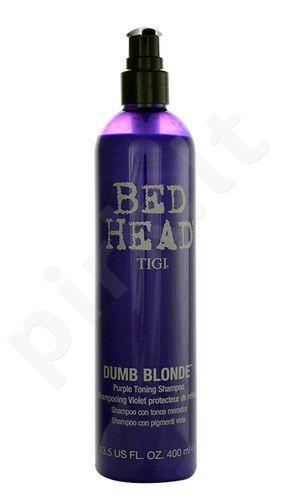 Tigi Bed Head Dumb Blonde Purple Toning šampūnas, kosmetika moterims, 400ml