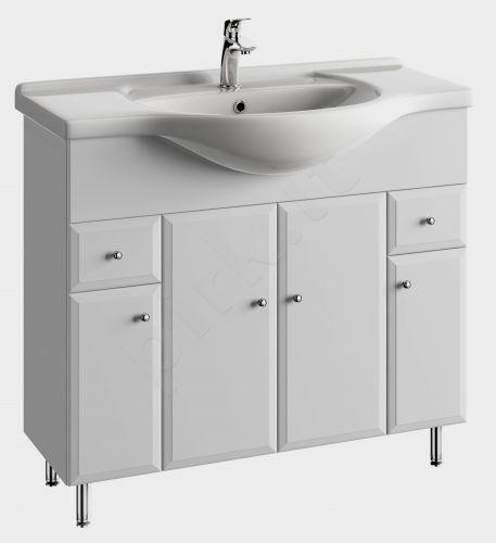 Vonios kambario spintelė su praustuvu 9502 D95 koj.