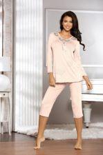 Pižama ESTIA (persikų spalvos)