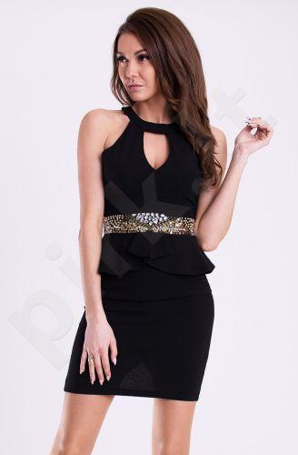 Emamoda suknelė - juoda 12015-2