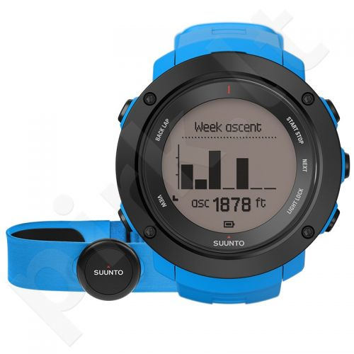 Vyriškas laikrodis SUUNTO AMBIT3 VERTICAL BLUE (HR)