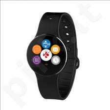 MyKronoz ZeCircle2 Smartwatch, Black, 55 mAh, Touchscreen, Bluetooth, Waterproof