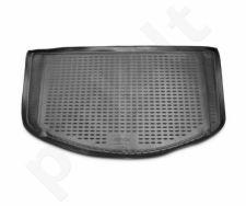 Guminis bagažinės kilimėlis SSANGYONG Actyon 2006-2010 black /N36002