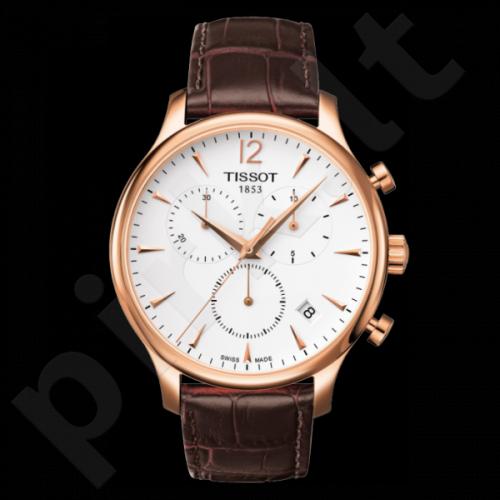 Vyriškas laikrodis Tissot Tradition-chronometras T063.617.36.037.00