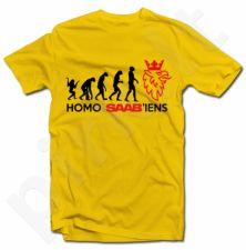 """Marškinėliai """"Saab evoliucija"""""""