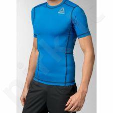 Marškinėliai treniruotėms Reebok Workout Ready Short Sleeve Compression M AP5695