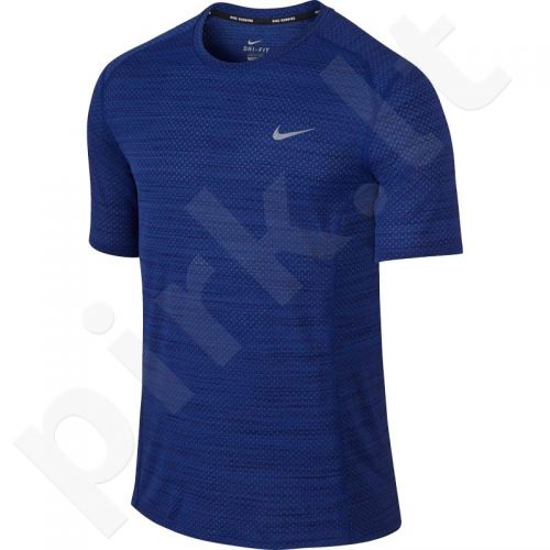 Marškinėliai bėgimui  Nike Dri-Fit Cool Miler SS M 718348-455