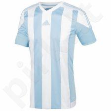 Marškinėliai futbolui Adidas Striped 15 Junior S16139