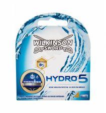 Wilkinson Sword Hydro 5, keičiamos galvutės vyrams, 4pc