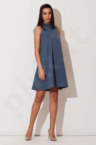 Suknelė K149 mėlyno atspalvio
