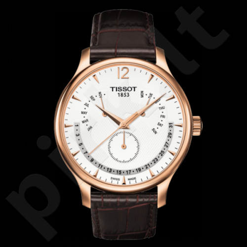 Vyriškas laikrodis Tissot Tradition T063.637.36.037.00