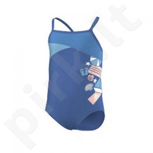 Maudymosi kostiumėlis Adidas Aquawear beach kids one piece Junior F77405