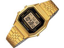 Casio Retro Collection LA680WEGA-1DF moteriškas laikrodis Chronograph