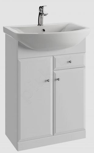 Vonios kambario spintelė su praustuvu 5606 D56