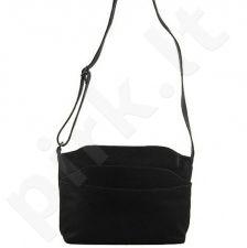 DAN-A T11 juoda rankinė iš natūralios odos , moteriška