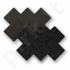 Nippies - Basic Cross - Kryžiukai, lipdukai krūtims Juodi
