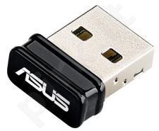 Asus USB-N10 Wireless-N150 Adapter,  IEEE 802.11b/g/n, USB2.0, Nano