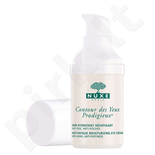 Nuxe Prodigieux Moisturizing akių krems, kosmetika moterims, 15ml