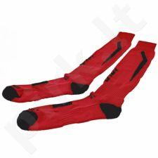 Kojinės COLO Cosmo Pro 024 raudonai-juodas